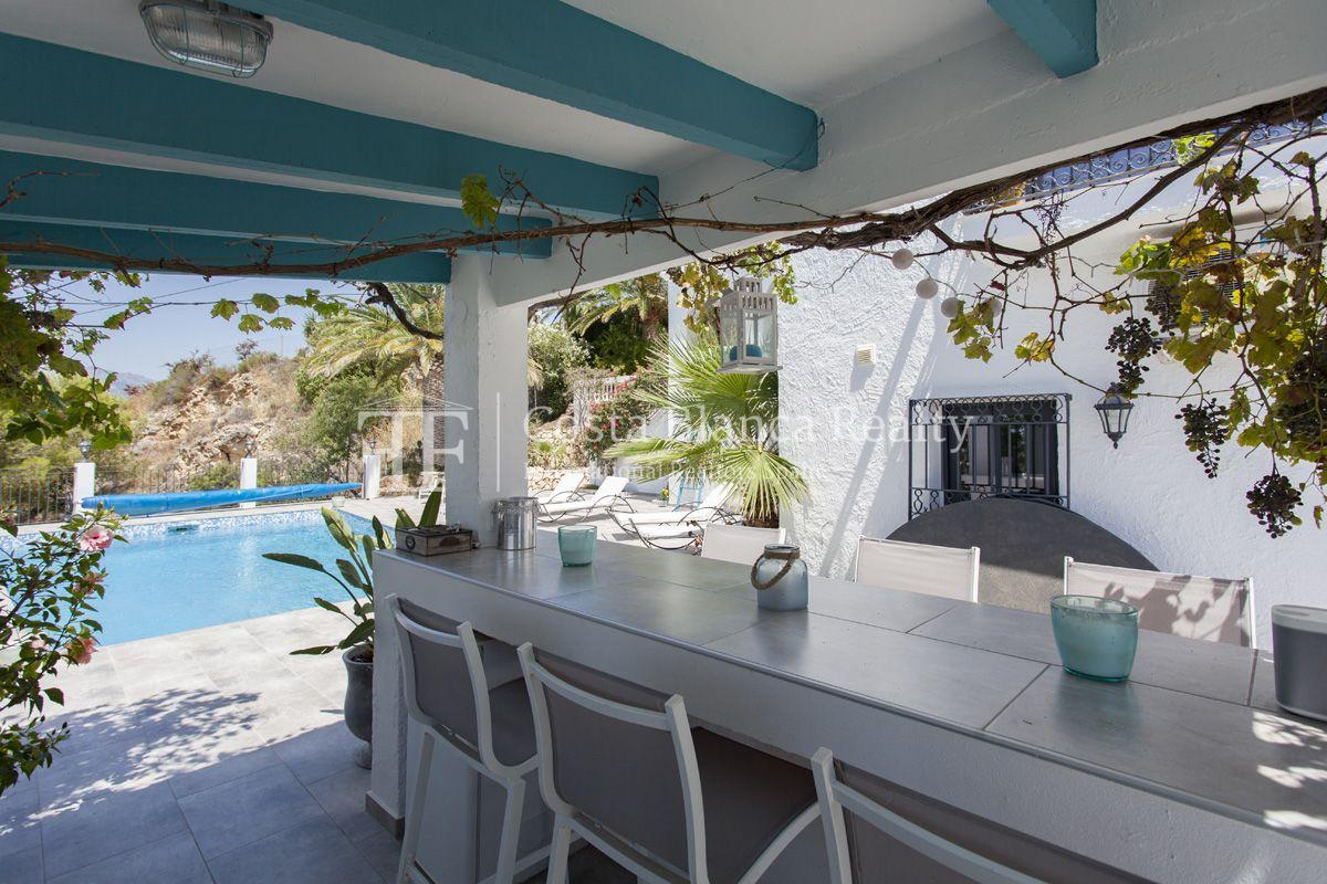 ++SOLD BY COSTABLANCA-REALTY.COM++ Villa for sale in San Chuchim in Ibiza style with panoramic sea views, Altea / Old Town - 40 - CHFi704