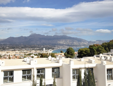 FPAS107: Semi-detached house in perfect condition in Albir with seaview - Main