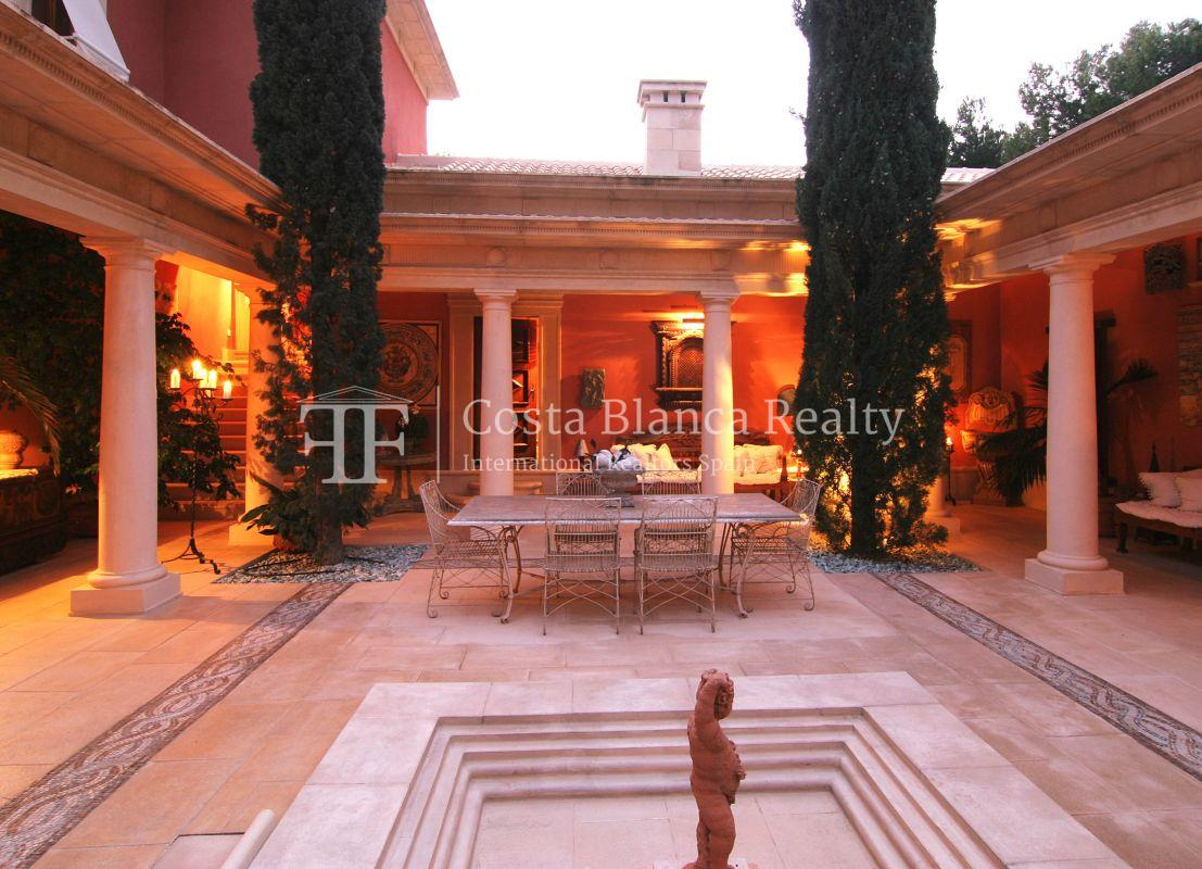 Beautiful villa in Roman style in Altea for sale, Sierra de Altea Golf - 12 - JOFi234