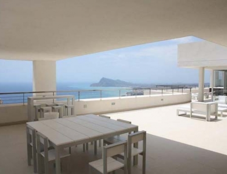 Modern penthouse with incredible views and special terraces, Altea Hills