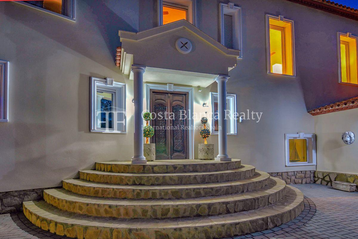Fantastic villa with panoramic sea views in Altea - 44 - CHFi798