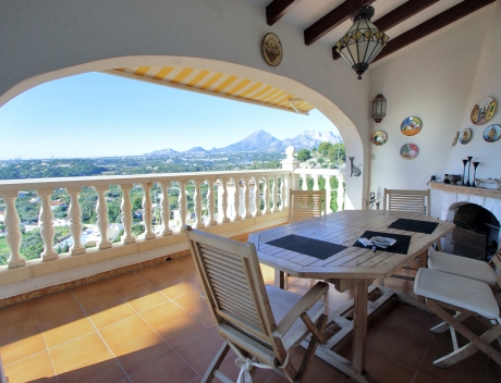 CHFi791: Villa for sale in Altea San Chuchim with panoramic sea views, Altea centre - Main