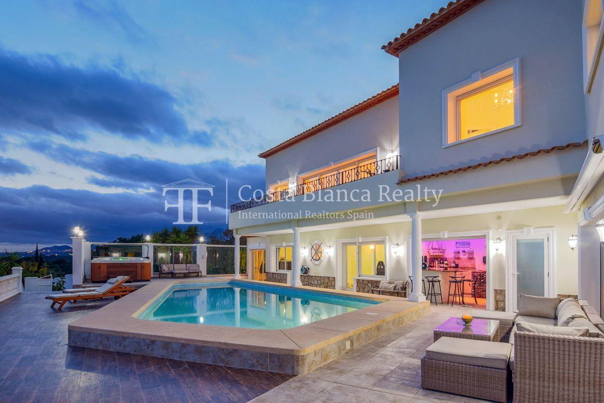 Fantastic villa with panoramic sea views in Altea - 7 - CHFi798