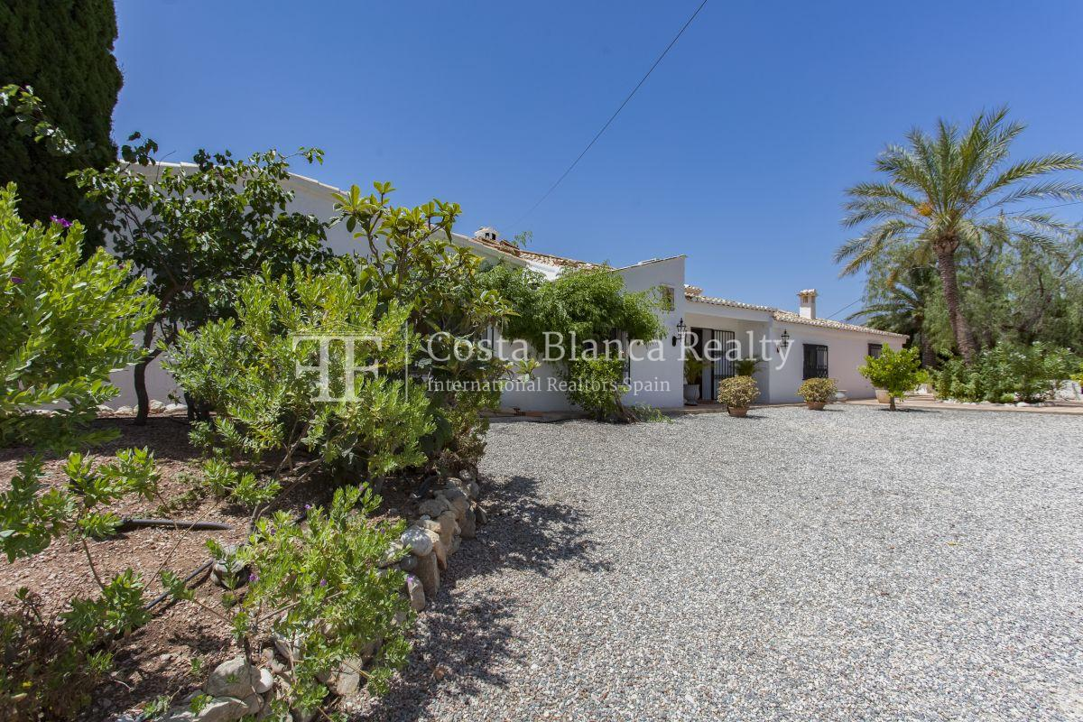 ++SOLD BY COSTABLANCA-REALTY.COM++ Villa for sale in San Chuchim in Ibiza style with panoramic sea views, Altea / Old Town - 44 - CHFi704
