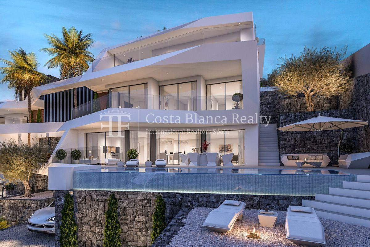Modern villa for sale with stunning sea views in Altea - 1 - CHFi842