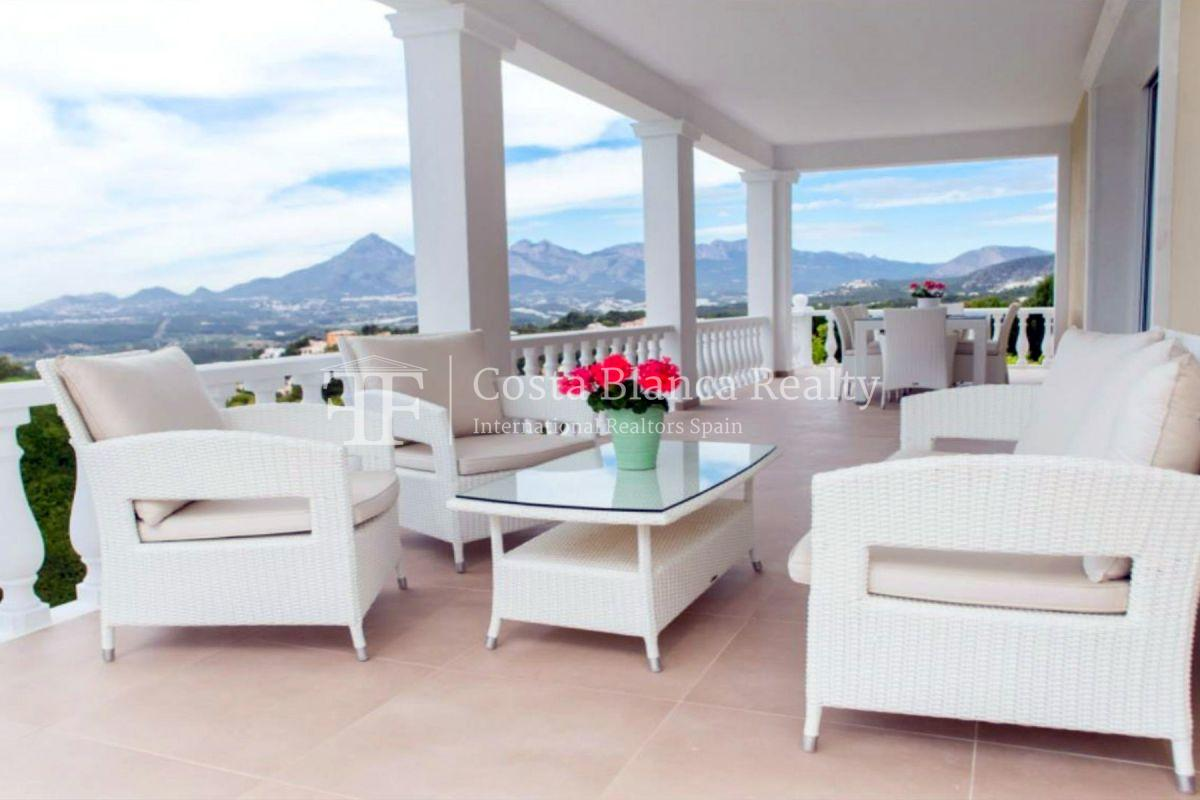 Impressive villa in the Sierra de Altea with 360º panoramic sea views - 5 - CHFi762