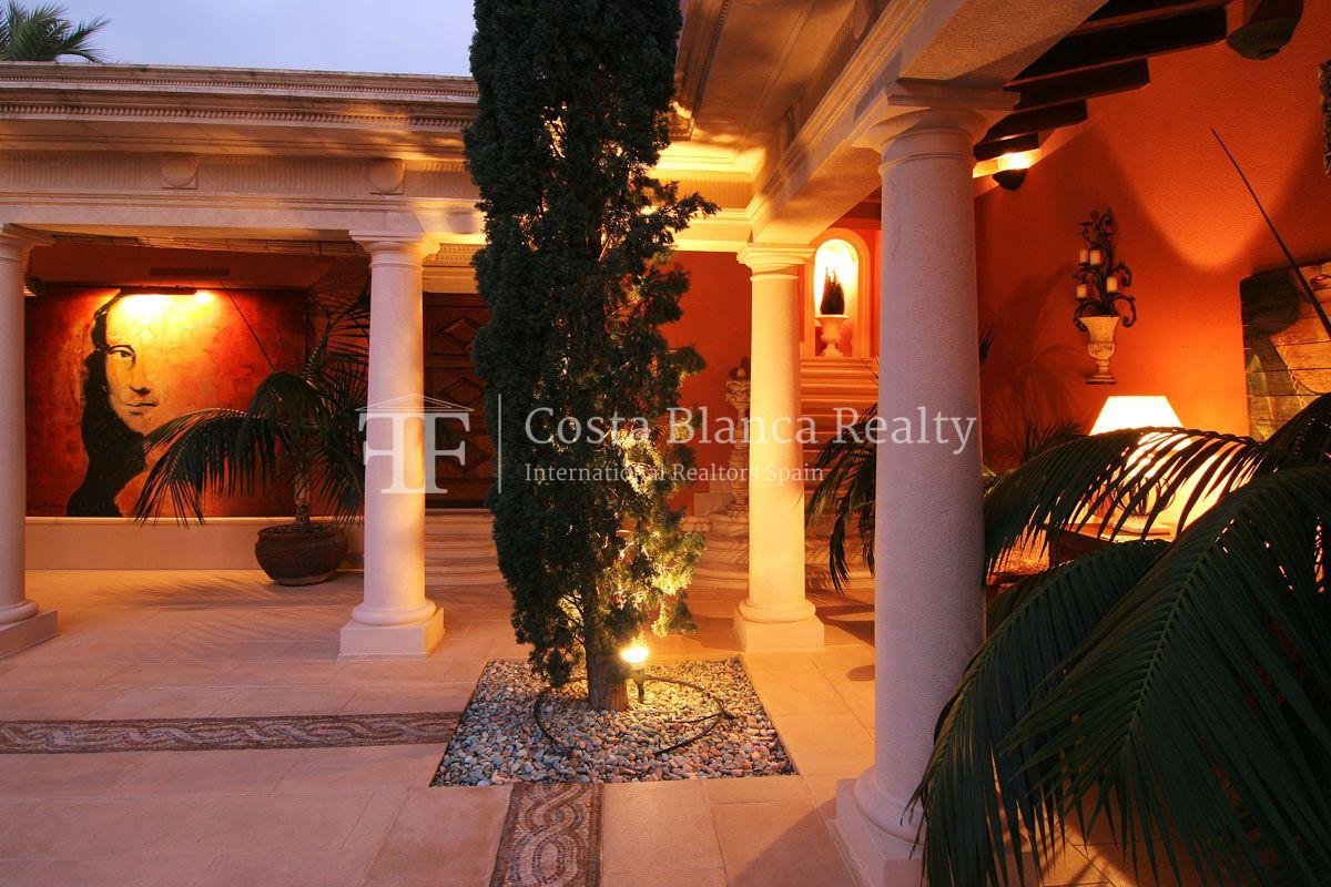Beautiful villa in Roman style in Altea for sale, Sierra de Altea Golf - 14 - JOFi234