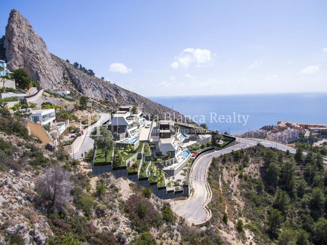 Modern villa for sale with stunning sea views in Altea - 4 - CHFi842