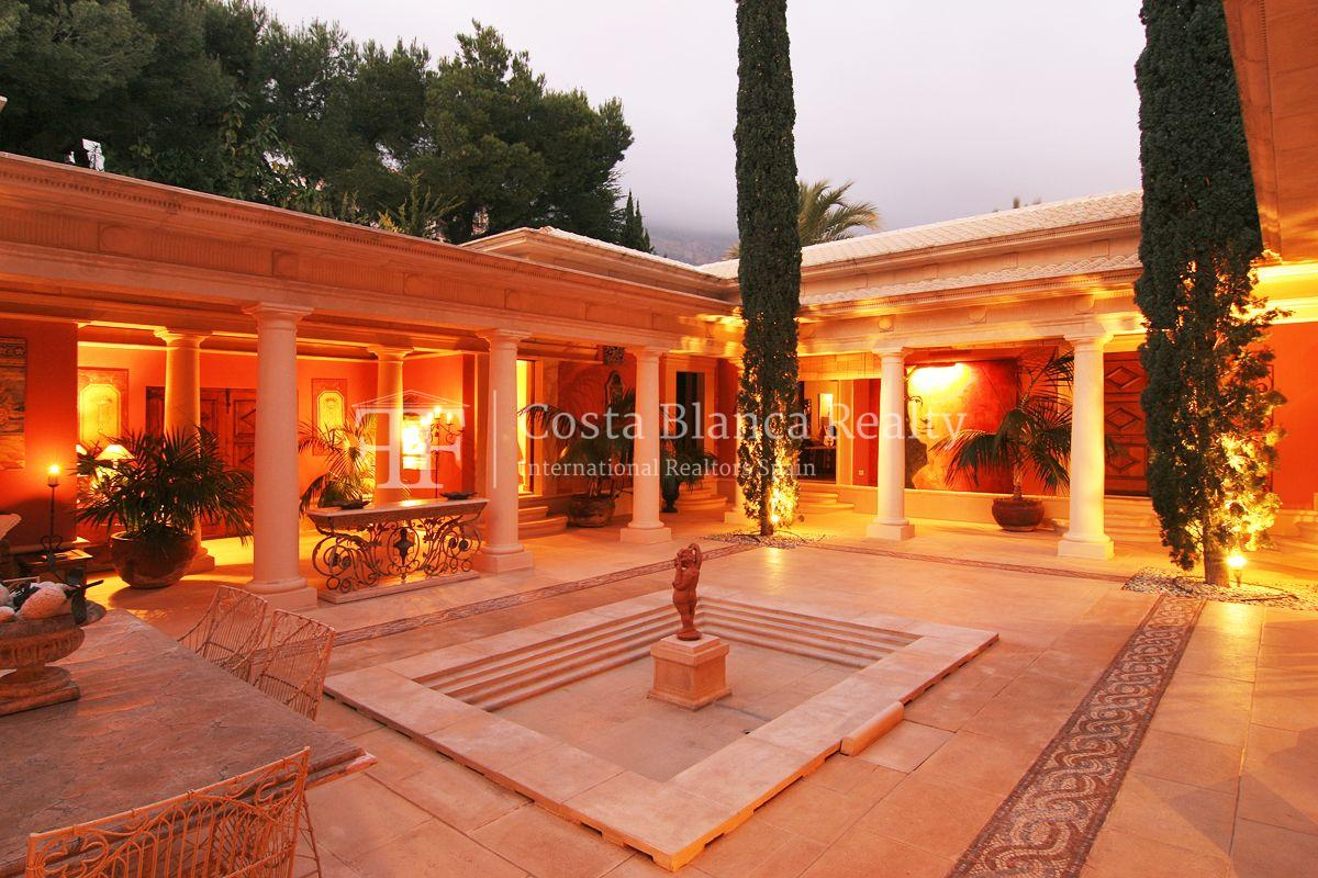 Beautiful villa in Roman style in Altea for sale, Sierra de Altea Golf - 1 - JOFi234