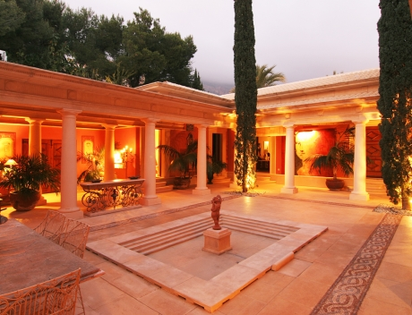 JOFi234: Beautiful villa in Roman style in Altea for sale, Sierra de Altea Golf - Main