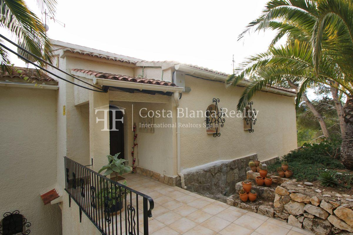 Villa for sale in Benissa with panoramic sea views on a large plot - 30 - CHFi655
