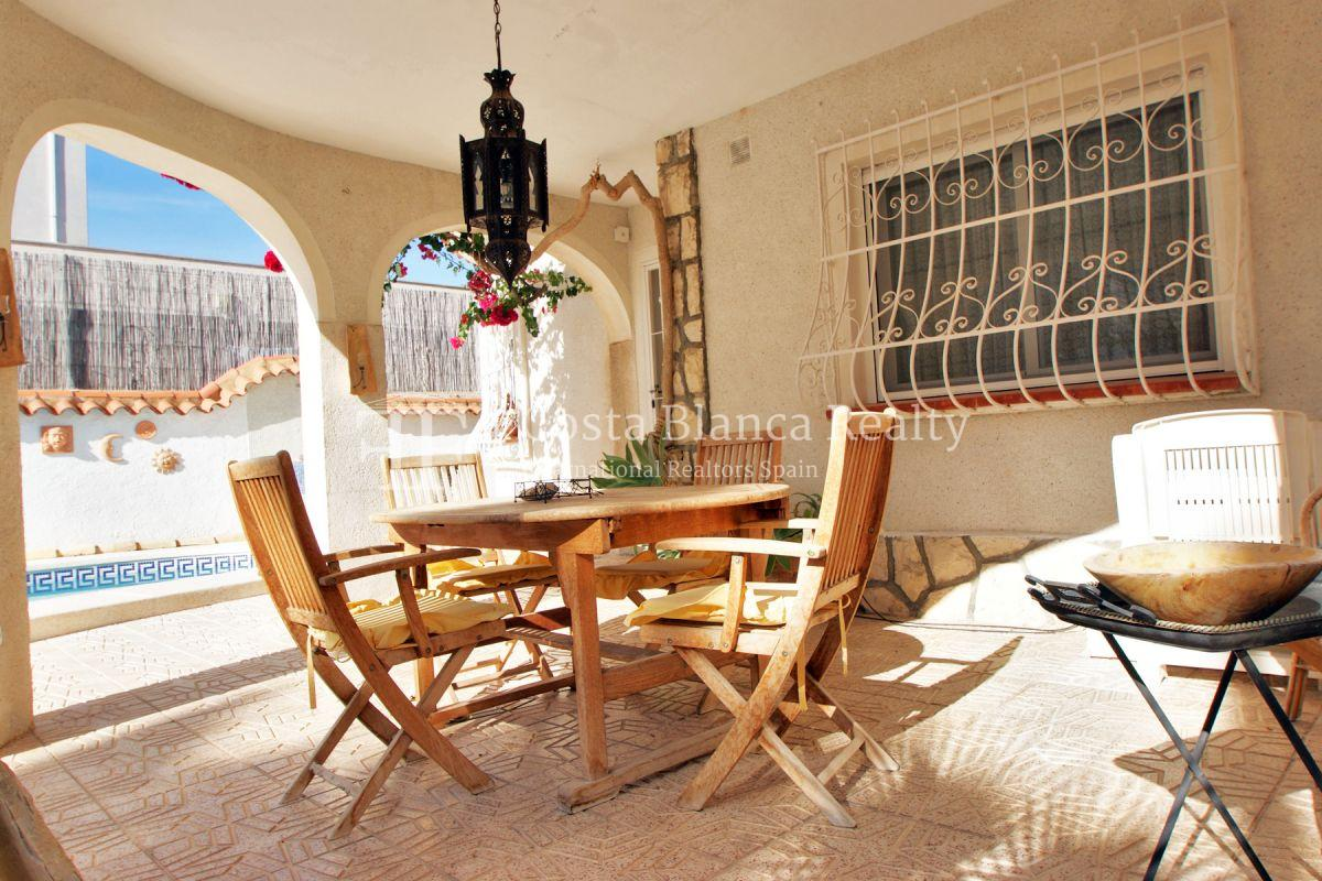 Well maintained end terraced house with private pool in Albir - 13 - JOFi266