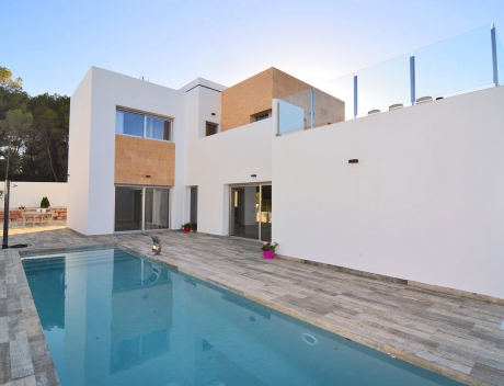 CHFi443: Modern new build villa for sale Benissa, Fustera, Costa Blanca - Main