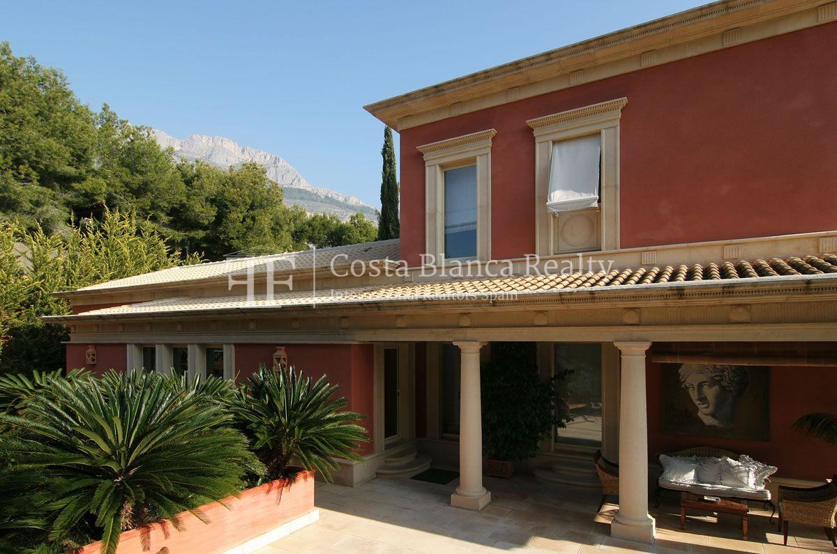 Beautiful villa in Roman style in Altea for sale, Sierra de Altea Golf - 9 - JOFi234
