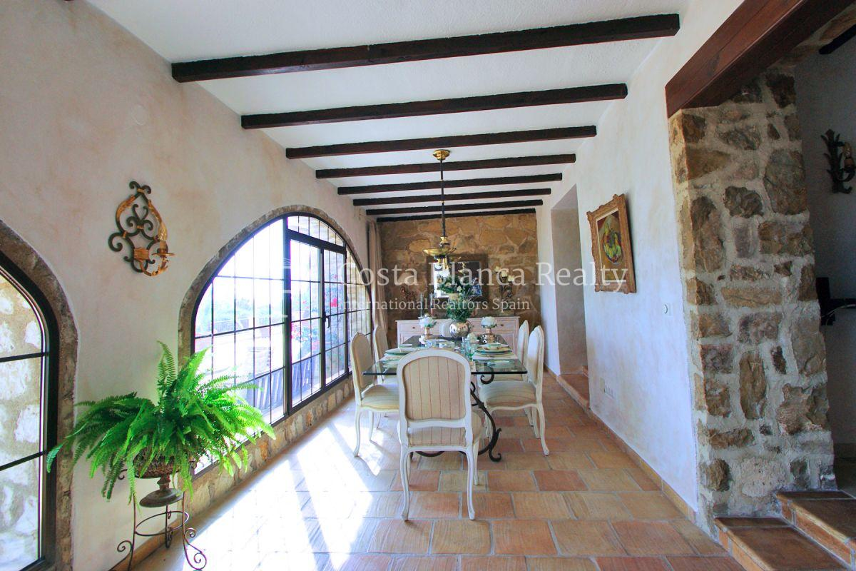 Great modern finca with panoramic sea views in Benissa - 13 - CHFi501