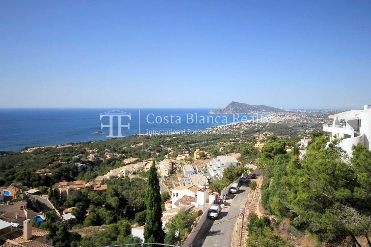 Beautifully renovated house / villa with sea views in Altea for sale, Sierra de Altea - 13 - FPAS105