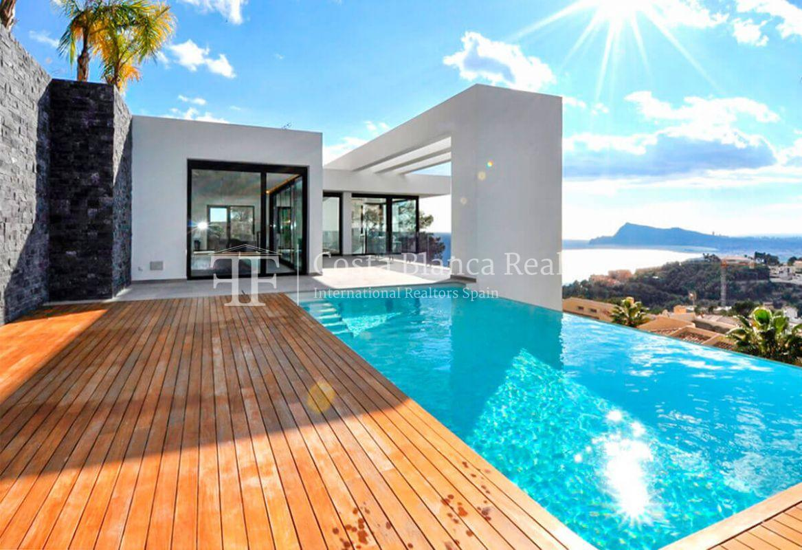 New luxury villa with exceptional sea view, Altea Hills - 21 - CHFi472