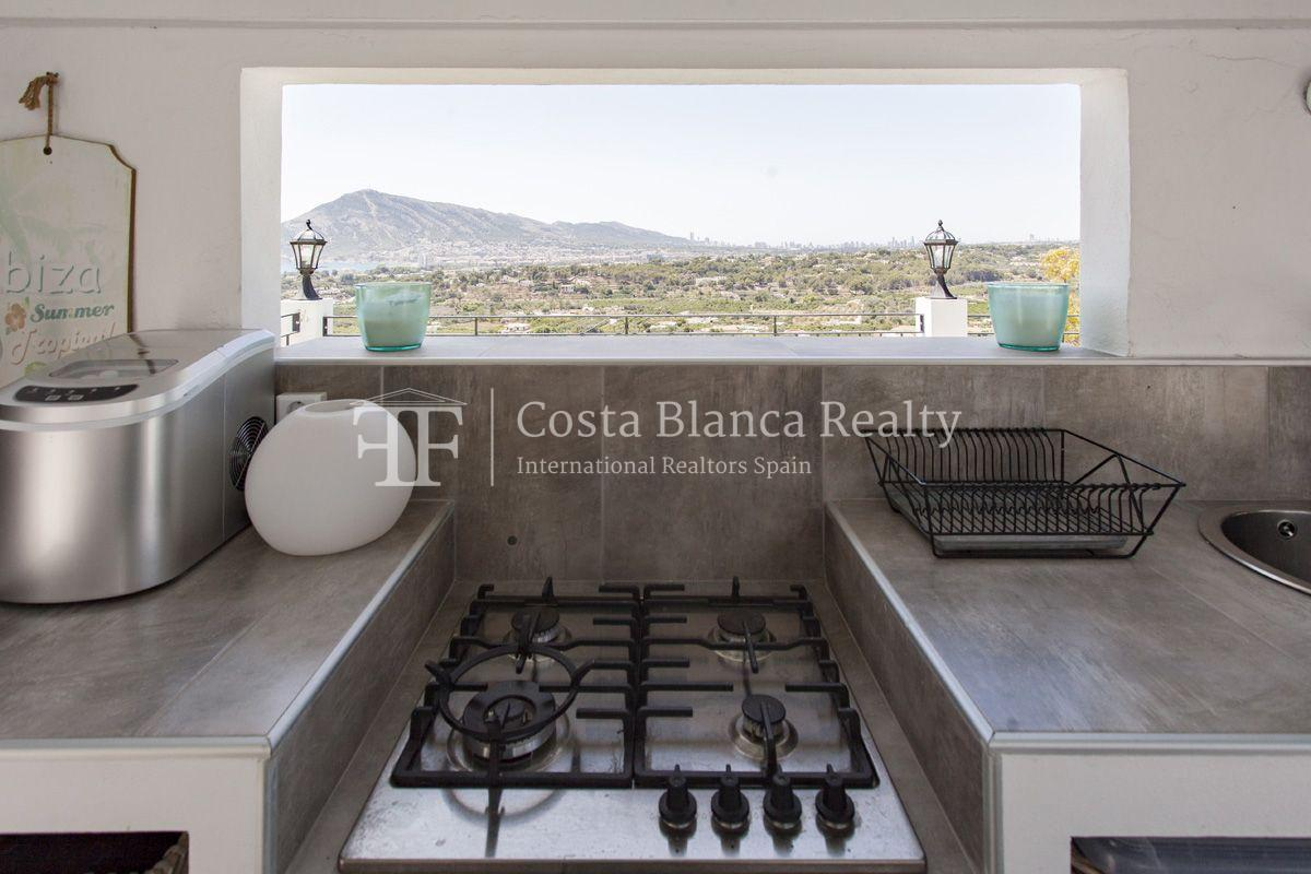 ++SOLD BY COSTABLANCA-REALTY.COM++ Villa for sale in San Chuchim in Ibiza style with panoramic sea views, Altea / Old Town - 41 - CHFi704