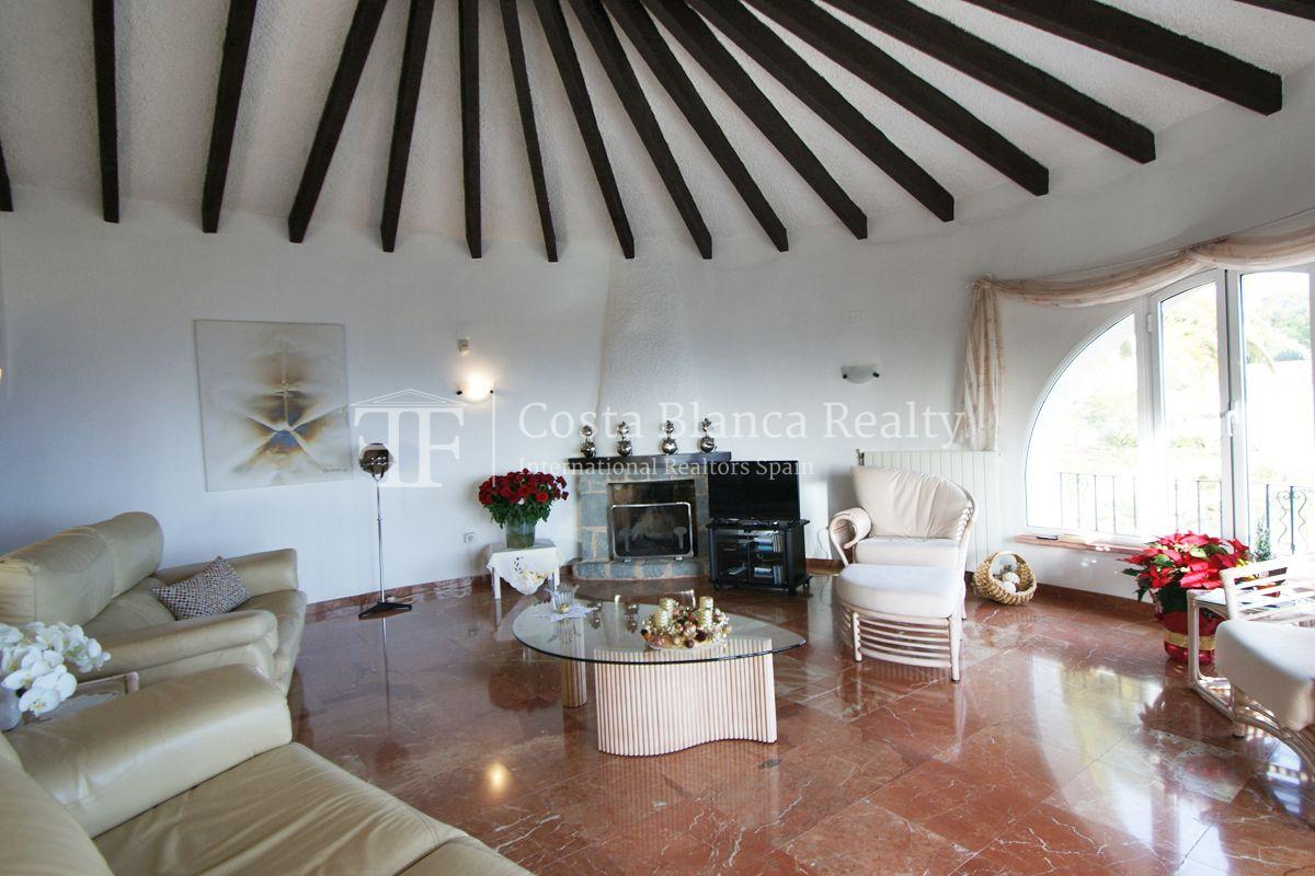 Villa for sale in Benissa with panoramic sea views on a large plot - 5 - CHFi655
