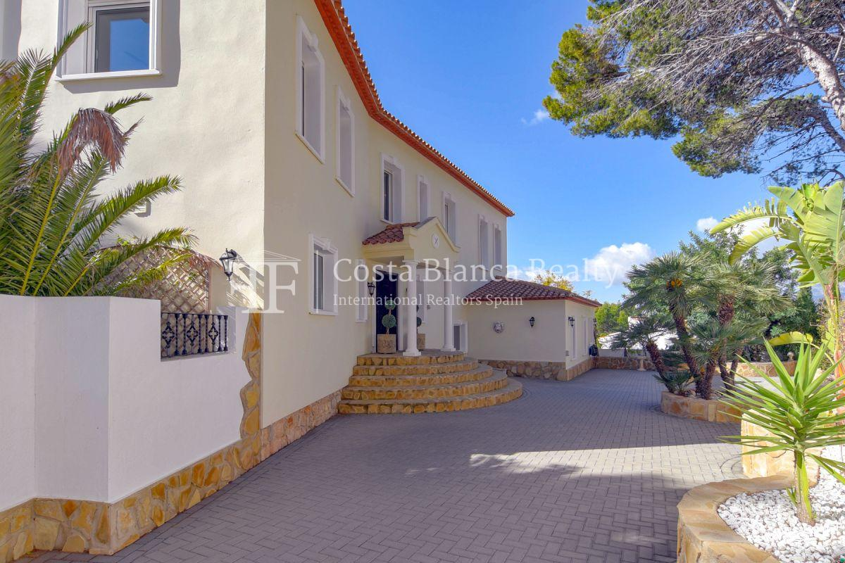 Fantastic villa with panoramic sea views in Altea - 29 - CHFi798