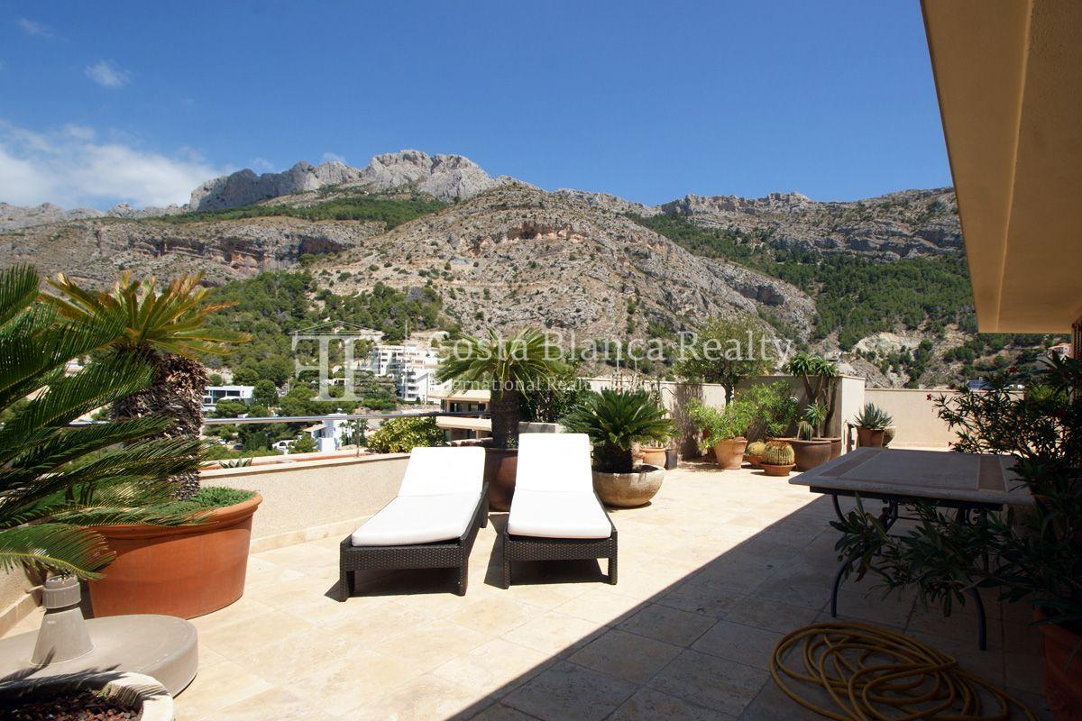 Duplex Penthouse Apartment for sale with great sea views in Altea, Villa Marina Golf - 23 - CHFi653