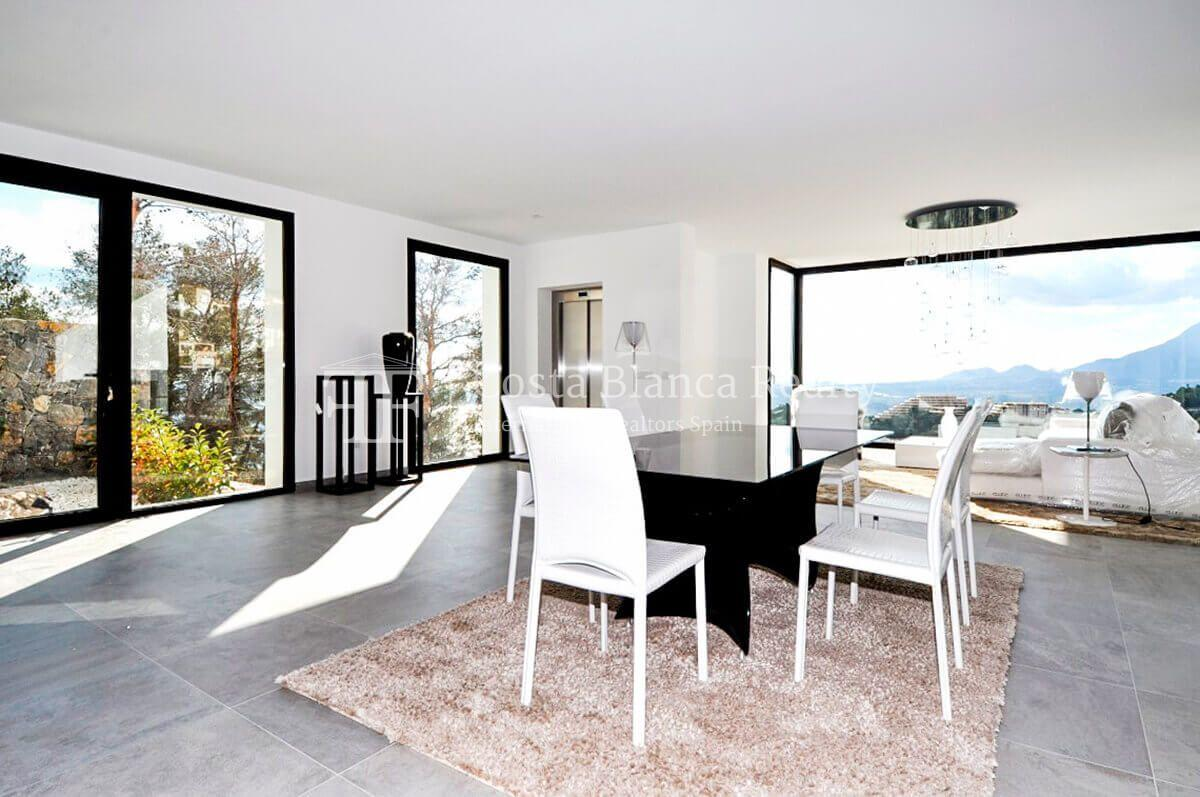 New luxury villa with exceptional sea view, Altea Hills - 4 - CHFi472
