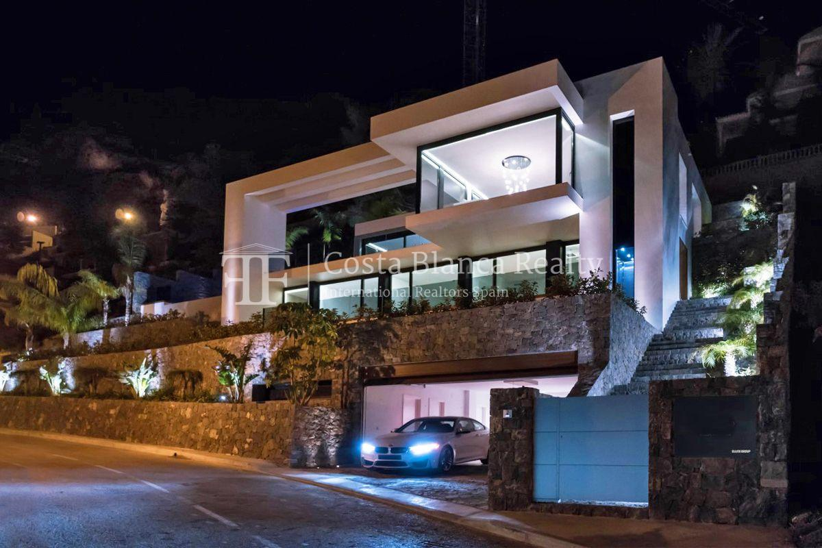 New luxury villa with exceptional sea view, Altea Hills - 2 - CHFi472