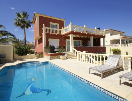 FPAS103: Big 6 bedroom house with panoramic sea views in a very desirable location, Bello Horizonte, La Nucia - Main