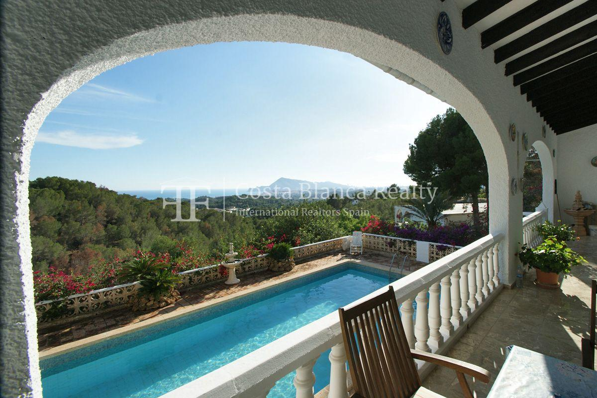 Large house with great sea views and 5000m2 of land, Altea, Alhama Springs - 1 - CHFi509