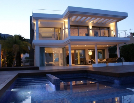CHFi512: Luxury newly built villa at first line for sale, Calpe, El Tossal, Spain - Main