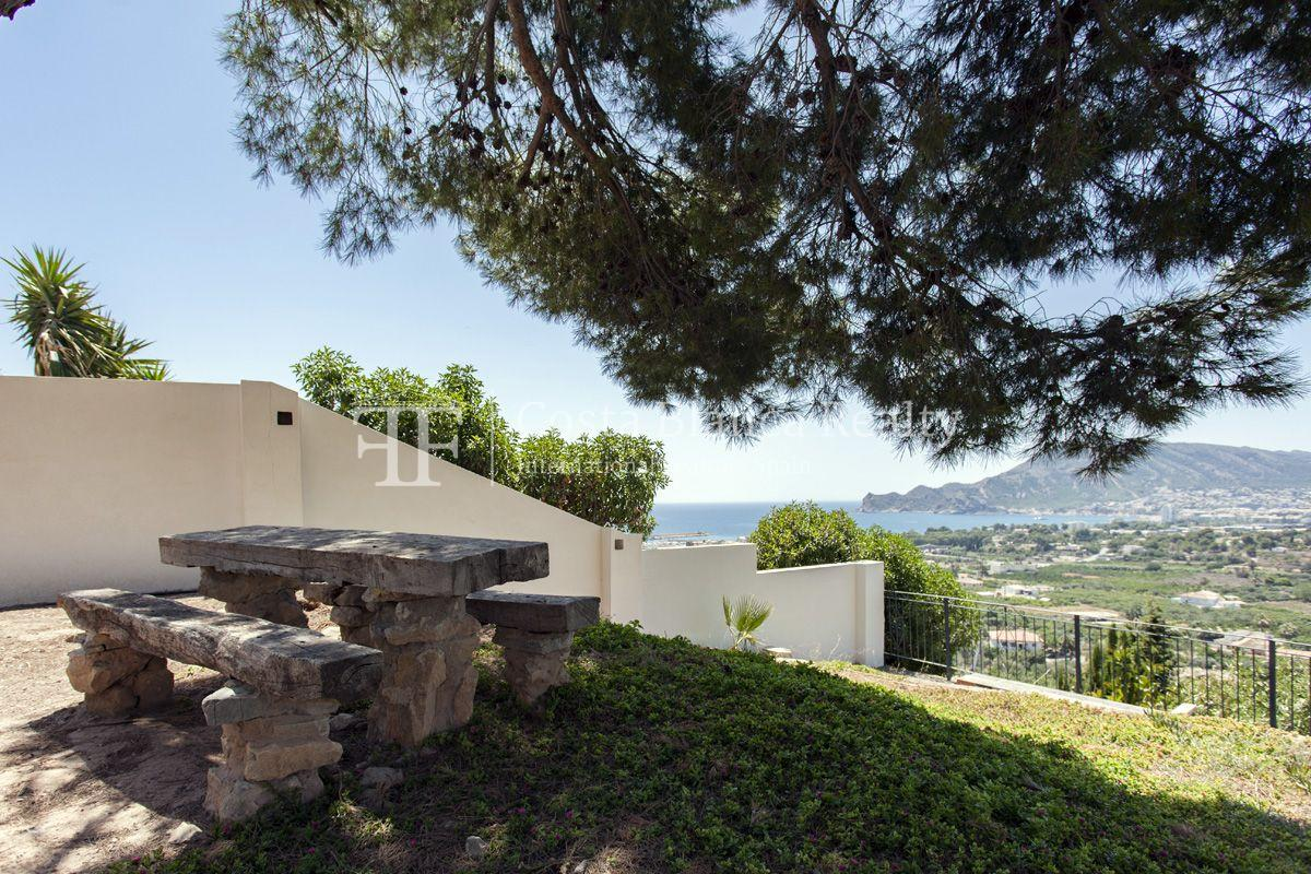 ++SOLD BY COSTABLANCA-REALTY.COM++ Villa for sale in San Chuchim in Ibiza style with panoramic sea views, Altea / Old Town - 53 - CHFi704