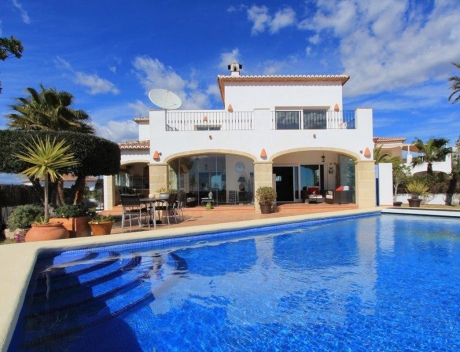 CHFi422: Dream villa with panoramic views over the Sea and the Mountains, Benimeit - Main