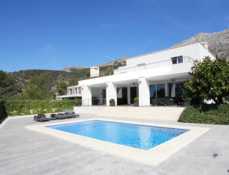 CHFi787: Modern villa for sale in Monterico Altea la Vella - Main