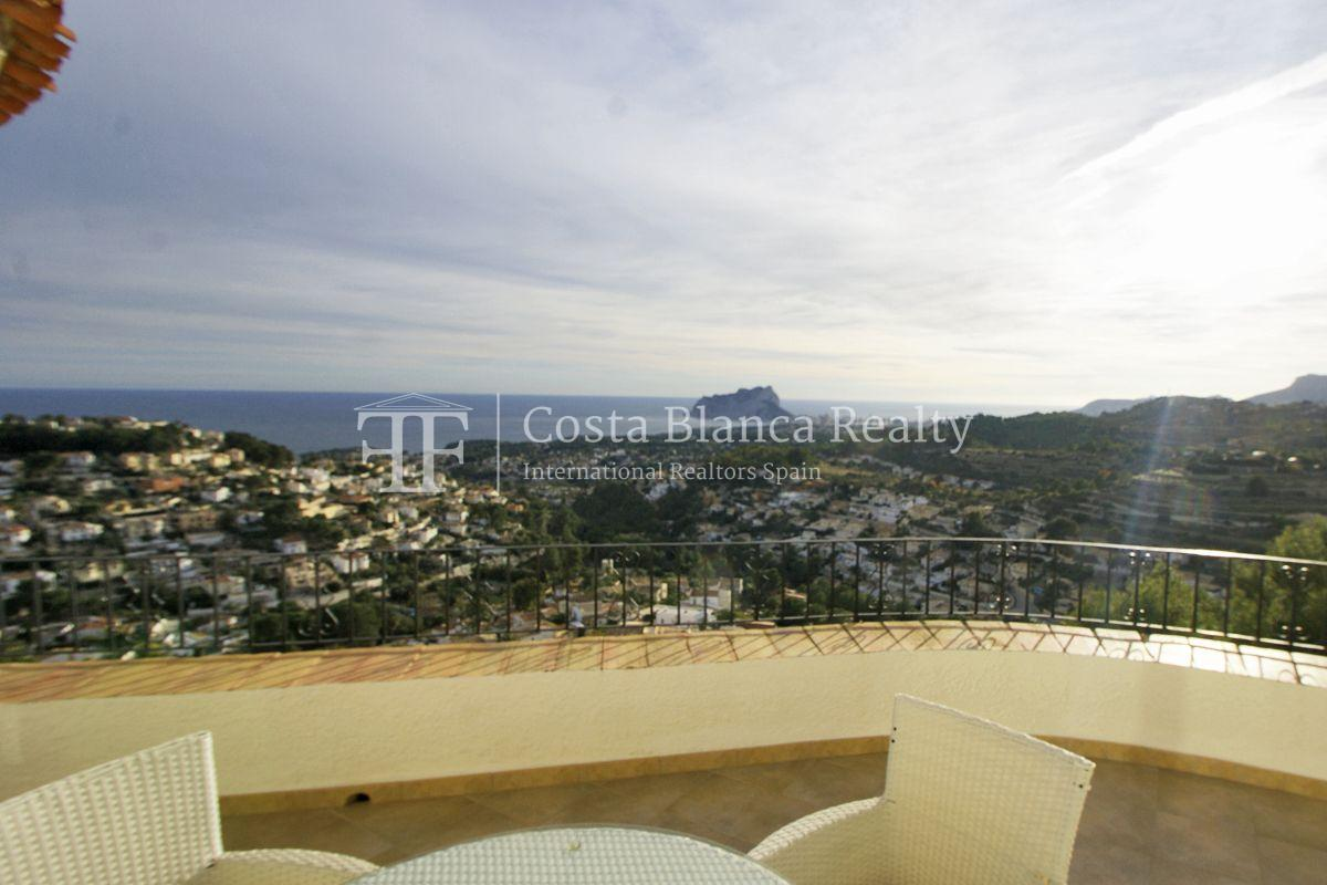 Villa for sale in Benissa with panoramic sea views on a large plot - 40 - CHFi655