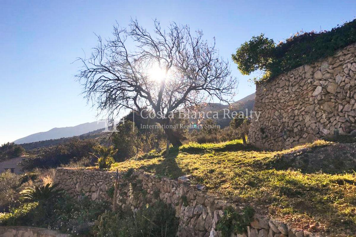 Wonderful finca with great panoramic sea views in Benissa - 12 - CHFi865