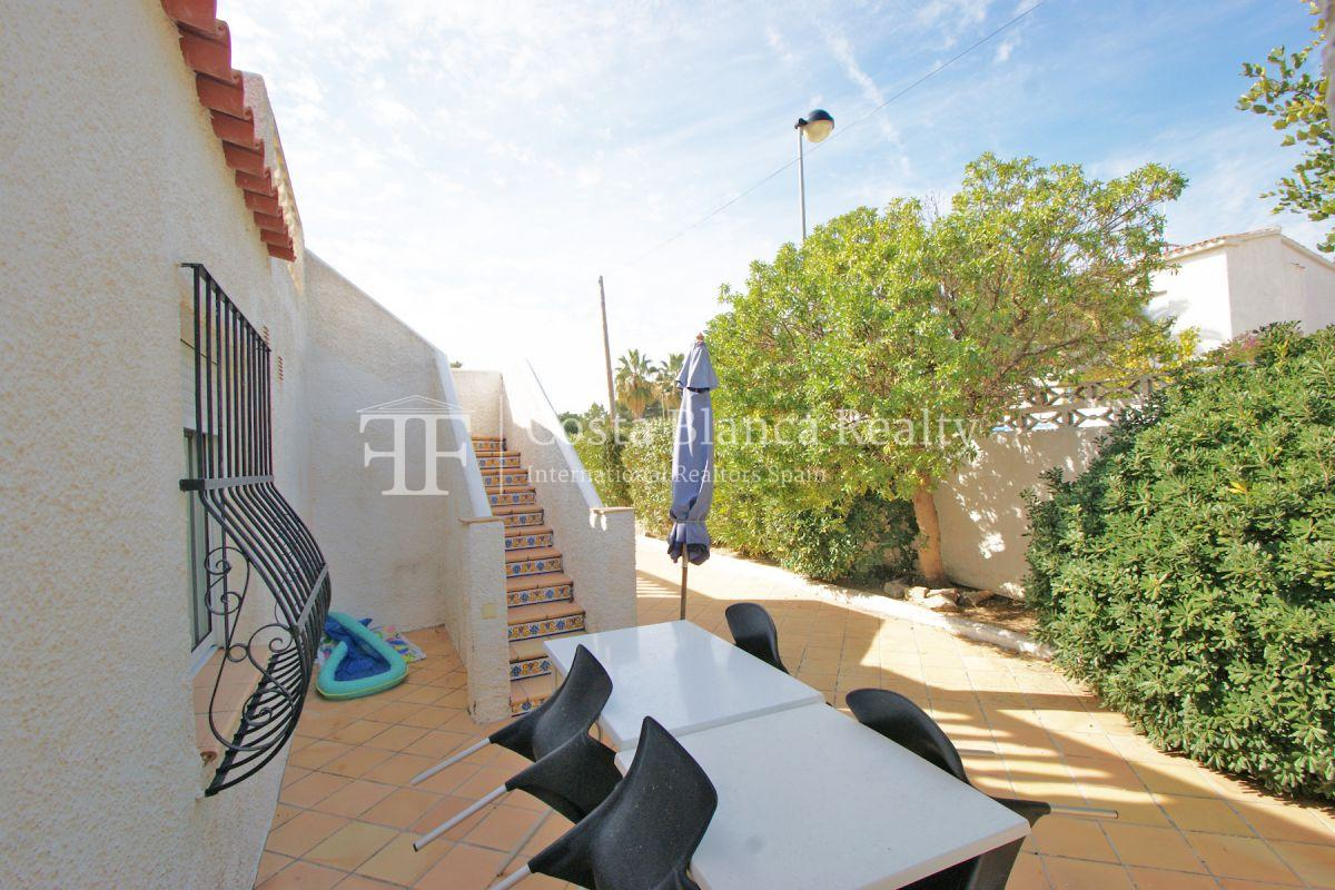 Nice one level House / Villa for sale in Alfaz del Pi at the Costa Blanca, Alicante, Spain with partly sea view and big terraces - 28 - CHFi707