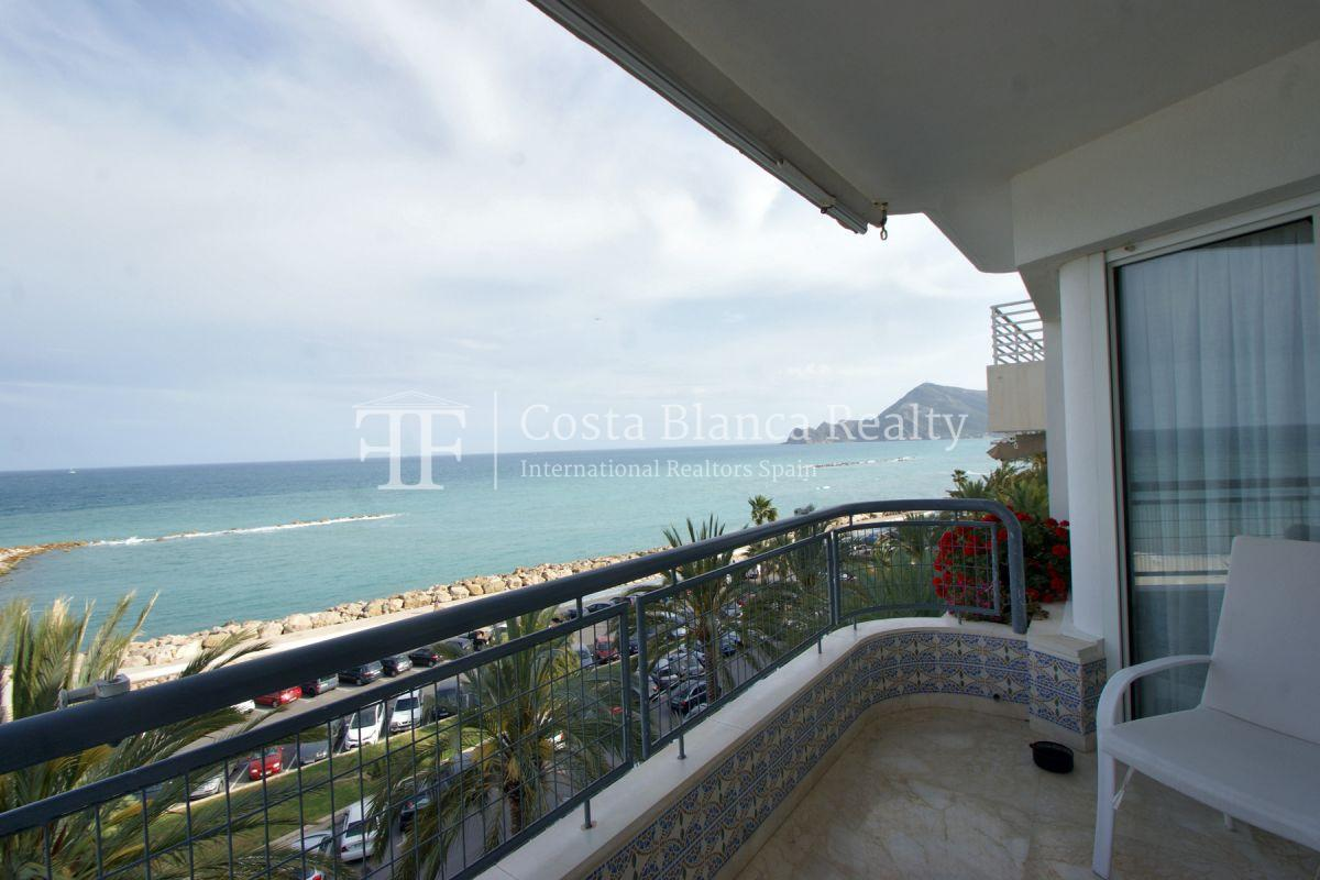 First sea line apartment with stunning sea views, Altea center - 3 - ASOL105