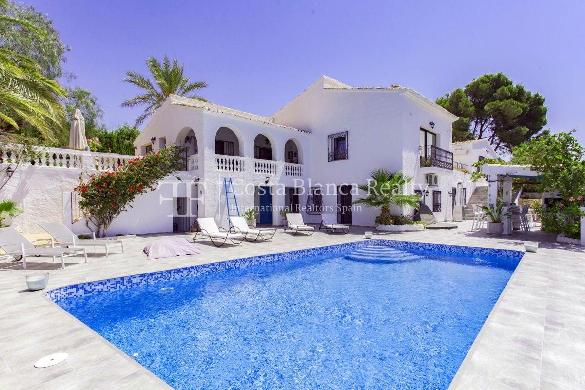 ++SOLD BY COSTABLANCA-REALTY.COM++ Villa for sale in San Chuchim in Ibiza style with panoramic sea views, Altea / Old Town - 46 - CHFi704