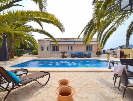 CHFi743: Beautifully renovated villa with sea views in Altea, Montahud - Main
