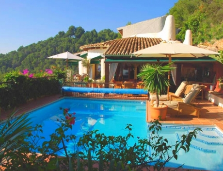 Cozy house with panoramic views of the sea, Sierra de Altea Golf