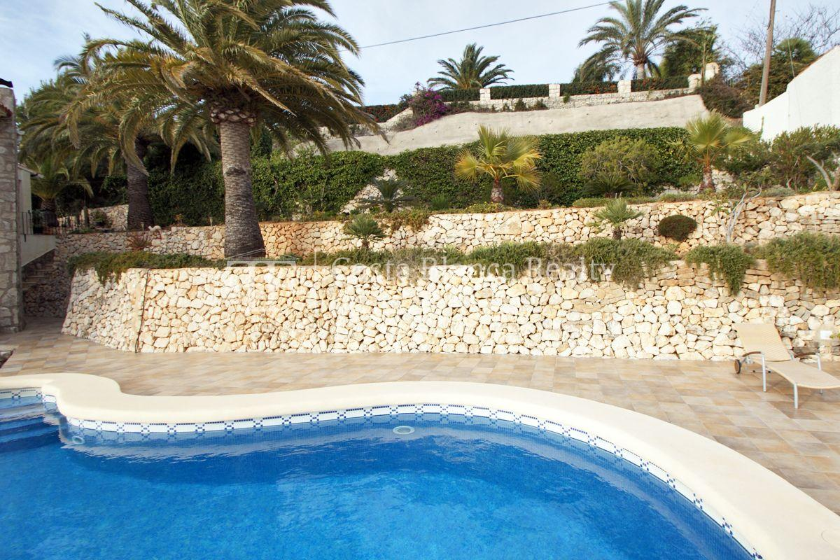 Villa for sale in Benissa with panoramic sea views on a large plot - 39 - CHFi655