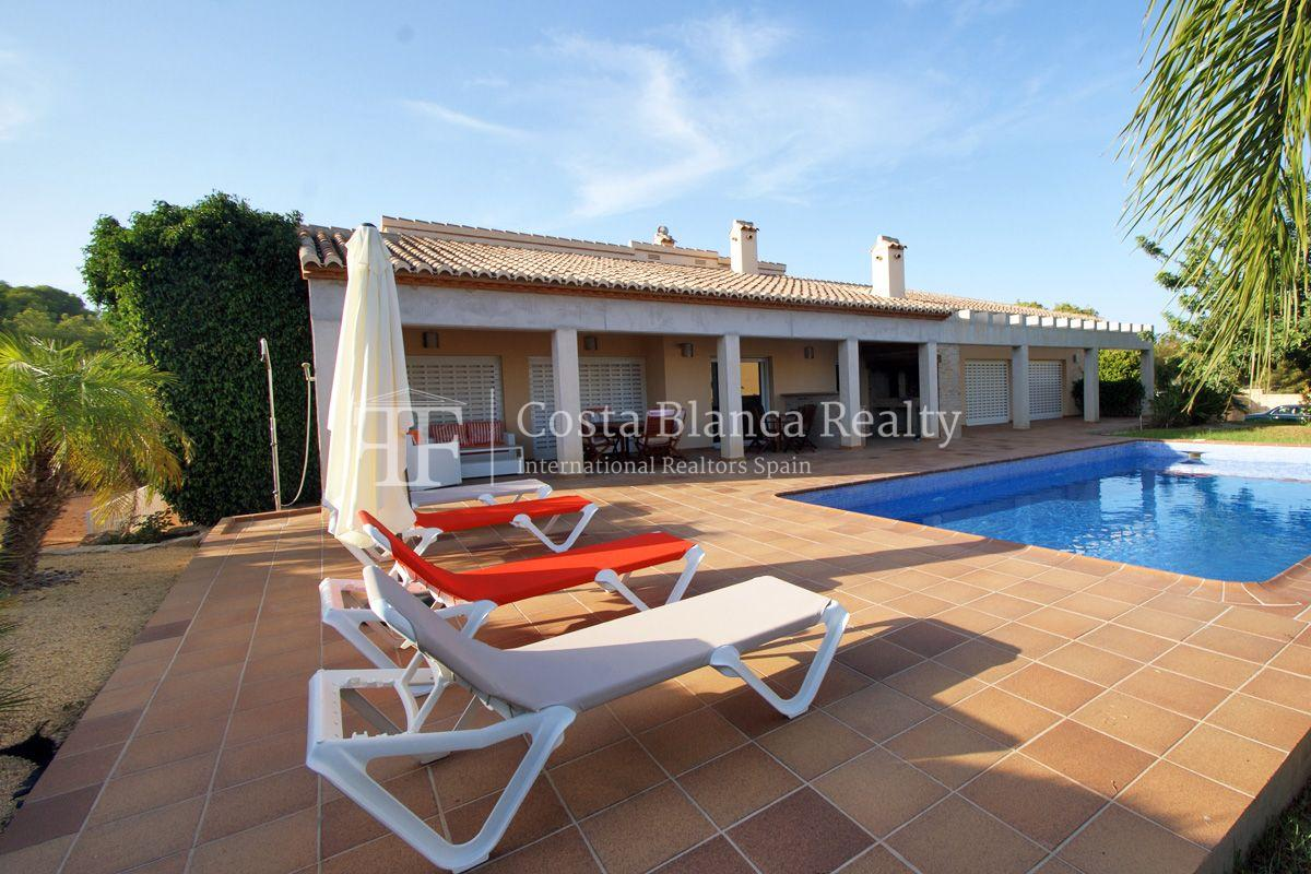 Very nice one level property with unobstructable sea view in Calpe - 47 - CHFi543