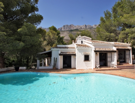 CHFi459: House with a lot of potential in the Sierra de Altea 2, Altea la Vella - Main