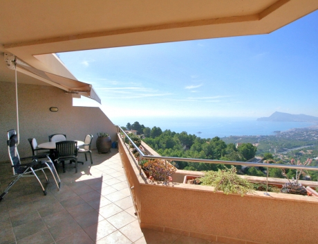 CHFi796: Duplex penthouse appartement te koop in Villa Marina Golf Altea - Main