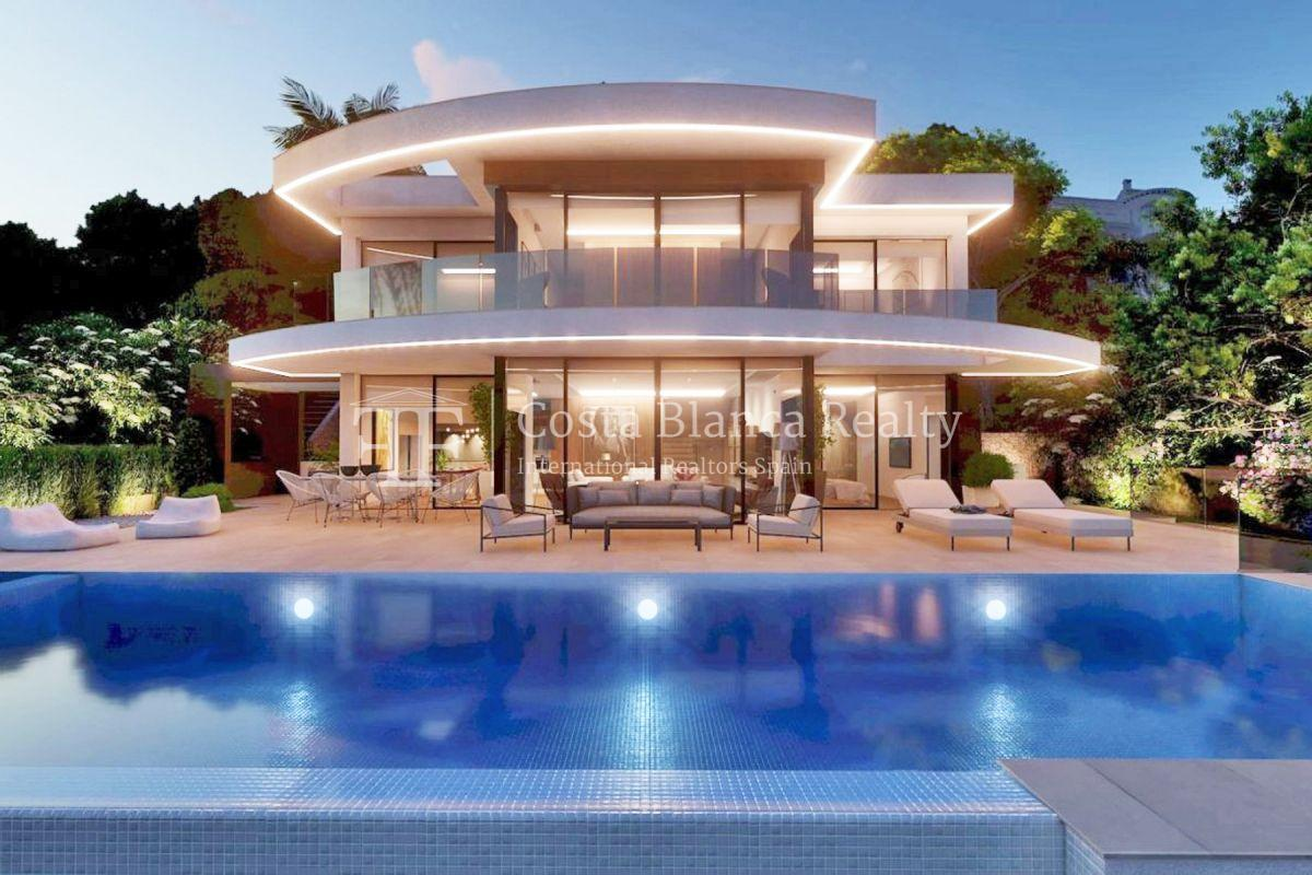 New build villa with panoramic sea views for sale in Moraira - 7 - CHFi782