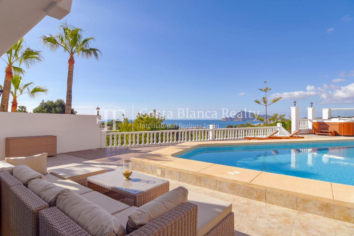 Fantastic villa with panoramic sea views in Altea - 3 - CHFi798