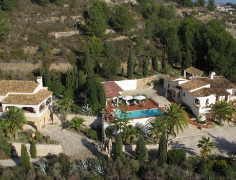 MORA324: Magnificent finca with separate guest house in Moraira, Pedramala - Main