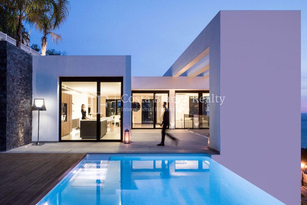 New luxury villa with exceptional sea view, Altea Hills - 17 - CHFi472
