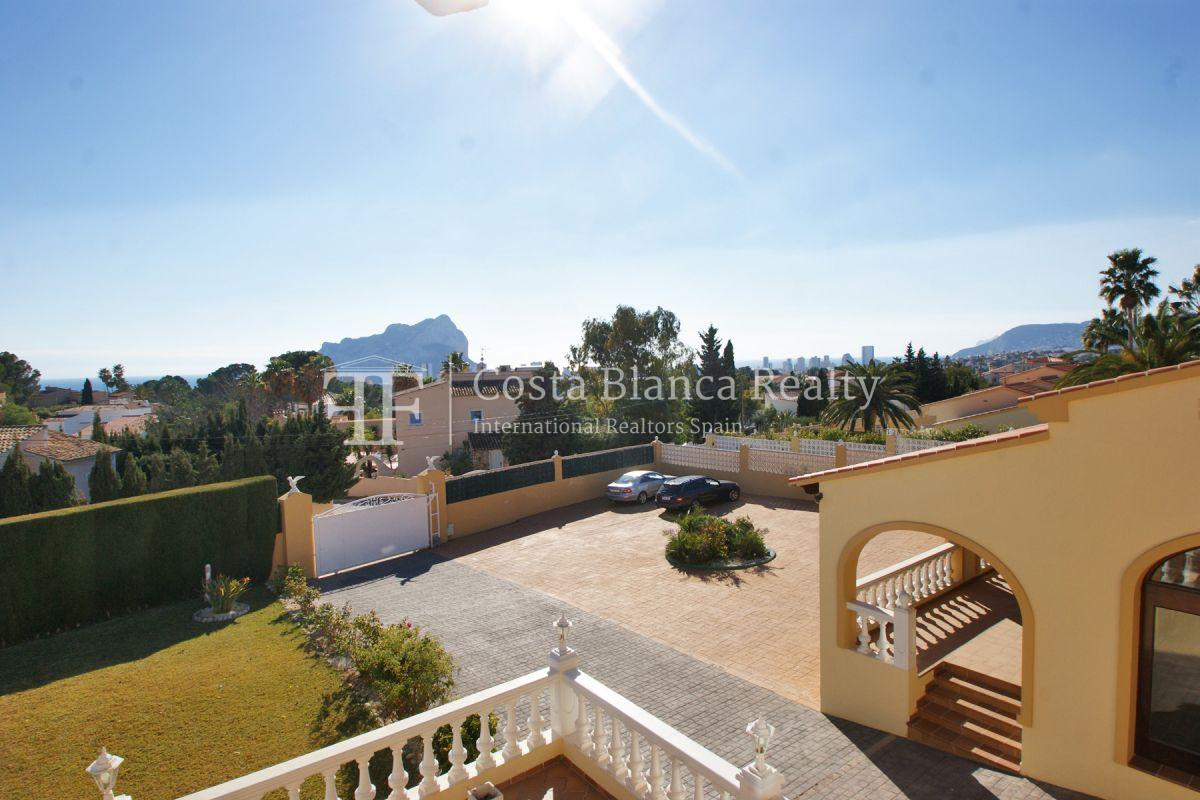 Very Large villa in calpe for sale with partly sea views - 2 - CHFi789