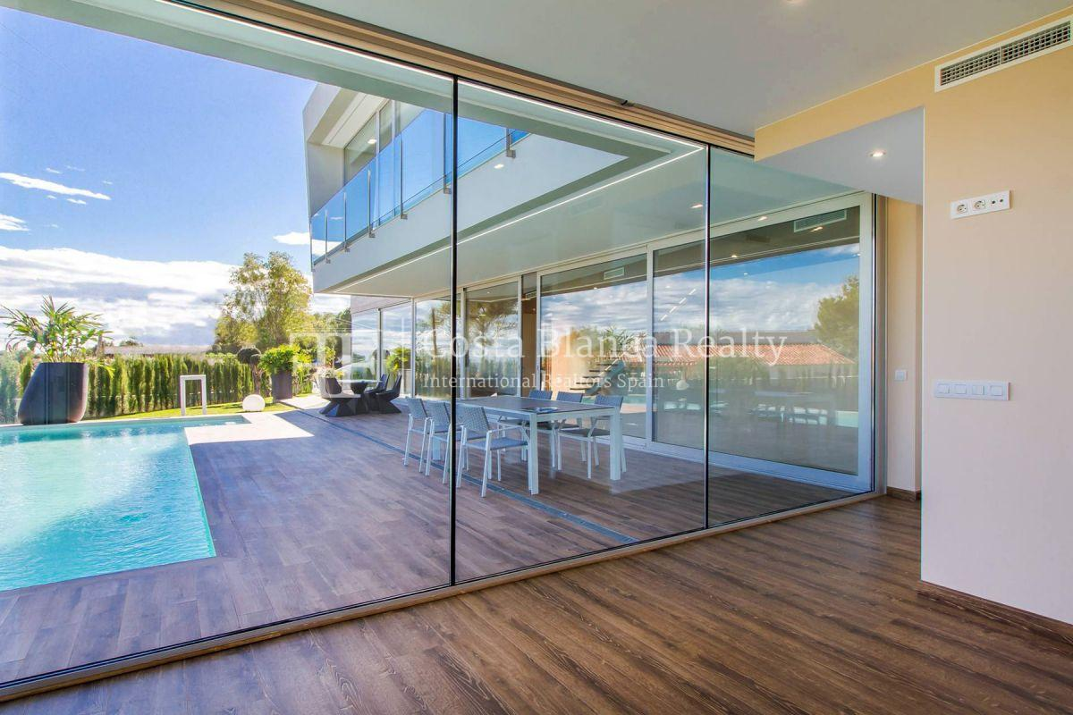 Modern villa in Benissa with sea views for sale, new building - 9 - CHFi788